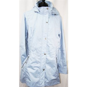 BABY BLUE RAINCOAT