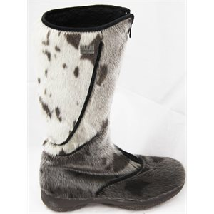 LONG NATURAL SEAL BOOTS FOR WOMEN