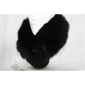 BLACK FOX COLLAR