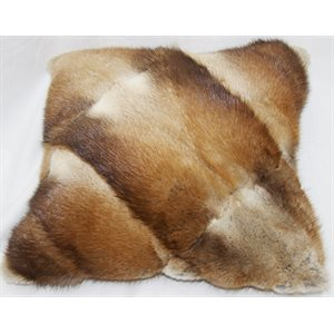 LEATHER «7 MUSKRAT CUSHIONS
